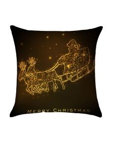 ゴールデン クリスマス 馬車柄 枕カバー cc0660-7