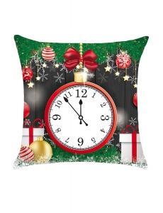 クリスマス 時計柄 枕カバー cc0661-22