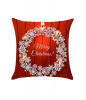 クリスマス 雪結晶柄 枕カバー cc0663-1