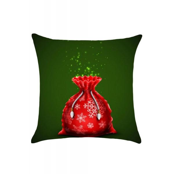 クリスマス プレゼント袋柄 枕カバー cc0664-3