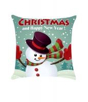 クリスマス & 新年おめでとう プリント 枕スリップ cc0667-9