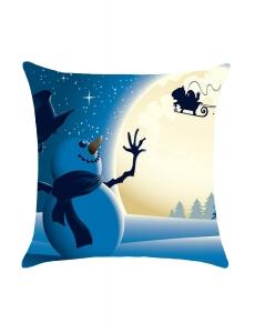 雪だるま アドベンチャー クリスマス 枕カバー cc0669-5