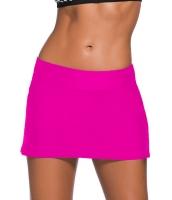 大きいサイズ ばら色 スカート水着 ビキニ ボトムス cc410007-6p