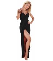 ブラック ギリシア 女神 スパゲッティ ストラップ サロン ビーチファッション cc42179-2