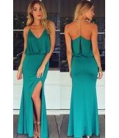 ゴールド チェーン ホルターネック マキシドレス & T バック  ナイトドレス ドレス パーティドレス セクシードレス セクシーワンピースCC60130