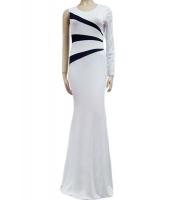 ワンスリーブ サイドストライプ ナイトドレス cc6827