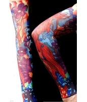【即納】タトゥー(TATOO)スリーブ | メンズファッション小物 | ゴールドフィッシュ タトゥースリーブ-tk-cc70433-628【カラー:画像参照】【サイズ:フリー】