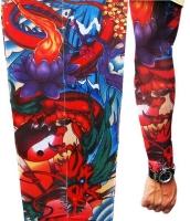 【即納】タトゥー(TATOO)スリーブ | メンズファッション小物 | ドラゴン 3.0 フェイク タトゥースリーブ-tk-cc70436-628【カラー:画像参照】【サイズ:フリー】