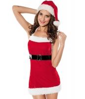 セクシー サンタ ミニ クリスマス ランジェリー コスチューム cc7120