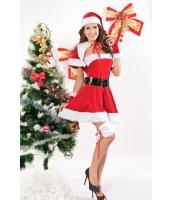 クリスマス サンタ コスチューム コスプレ ベルベット ミスサンター コスチューム-cc7152