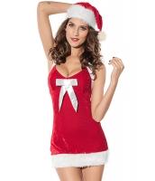 クリスマス サンタ コスチューム コスプレ お祭り ヘルパー コスチューム コスプレ-cc7156