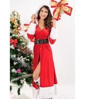 クリスマス サンタ コスチューム コスプレ 冬 ファンタジー コスチューム-cc7161