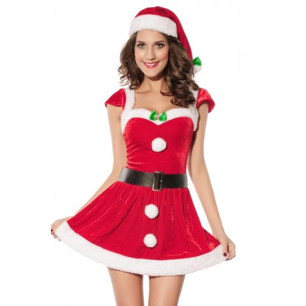 クリスマス サンタ コスチューム コスプレ クリスマス コスチューム コスプレ-cc7170