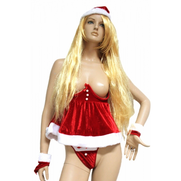 クリスマス サンタ コスチューム コスプレ リトルベル コスチューム・コスプレ-cc7193