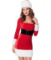 クリスマス サンタ コスチューム コスプレ レディースサンター2点セット-cc7219