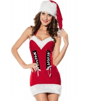 クリスマス サンタ コスチューム コスプレ レディースサンター-cc7220