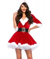 サンタ ベビー クリスタル ベルベット お祭り ドレス cc7278