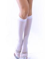 【即納】ソックス | 靴下 | レッグウェア | ハイソックス-tk-cc7901-1【カラー:ホワイト】【サイズ:フリー】
