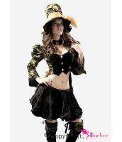 ハロウィン パーティ衣装 コスチューム コスプレ プラスサイズ ティーパーティ いじめっ子 コスチューム-cc8387p