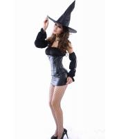 ハロウィン パーティ衣装 コスチューム コスプレ 誘惑 セクシー 魔女 コスチューム-cc8484