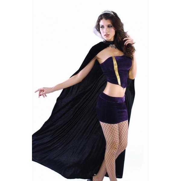 ハロウィン パーティ衣装 コスチューム コスプレ デラックス 邪悪 女王 コスチューム コスプレ-cc8567