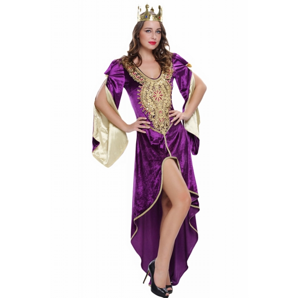 ハロウィン パーティー レディース 女王 セクシー コスチューム cc89026-8