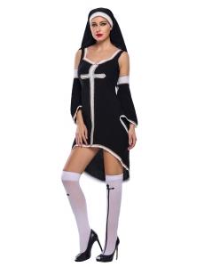 罪深い 修道女 コスチューム cc89033-2