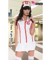 看護婦 ナース コスチューム コスプレ レザー 看護婦 ランジェリー-cc9002