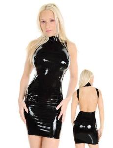 【即納】ボンテージドレス SM ボンテージ コスプレ コスチューム ボディコン エナメル・ドレス tk-cc9122-f-bk【カラー:ブラック】【サイズ:フリー】
