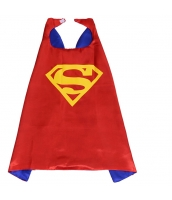スーパーマン コスチューム マント レッド 大人/子供共通 qx10060-4
