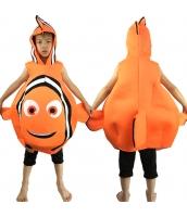 ニモ ファインディング・ニモ Finding Nemo コスチューム フード付きオールインワン 6-10歳児 qx10008-2