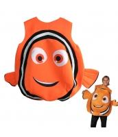 ニモ ファインディング・ニモ Finding Nemo コスチューム フード付きオールインワン qx10008-3