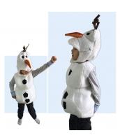 ハロウィン衣装 コスプレ 4-5歳児 コスチューム スノーベイビー 2点セット 帽子+ベスト qx10008-5