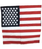 パイレーツ・オブ・カリビアン コスプレ小道具 ヘアバンド 海賊頭巾 米国旗 ボーダー qx10009-13