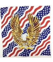 パイレーツ・オブ・カリビアン コスプレ小道具 ヘアバンド 海賊頭巾 イーグル国旗 qx10009-14
