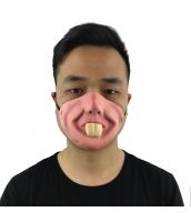 猪八戒 西遊記 コスプレ小道具 お笑いマスク うさぎの歯 qx10012-7