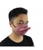 猪八戒 西遊記 コスプレ小道具 お笑いマスク カモ口 qx10012-9