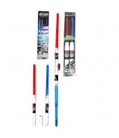 スターウォーズStarWars おもちゃ兵器・武器 ライトセーバー 子供用 レッド+ブルー 2点セット qx10109-4