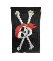 パイレーツ・オブ・カリビアン コスプレ小道具 特大海賊旗 フラッグ qx10015-19