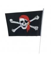 パイレーツ・オブ・カリビアン コスプレ小道具 海賊旗 フラッグ qx10015-20