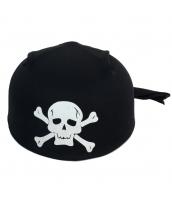 パイレーツ・オブ・カリビアン コスプレ小道具 海賊帽子 髑髏 頭巾 qx10019-4