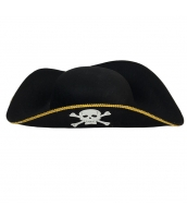 パイレーツ・オブ・カリビアン コスプレ小道具 海賊帽子 髑髏 qx10019-1