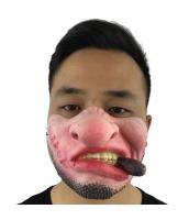 猪八戒 西遊記 コスプレ小道具 お笑いマスク 喫煙 qx10016-1