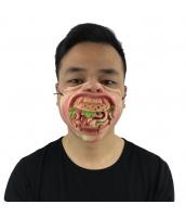 猪八戒 西遊記 コスプレ小道具 お笑いマスク ハンバーガー qx10016-12