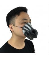 猪八戒 西遊記 コスプレ小道具 お笑いマスク シマウマ qx10016-3