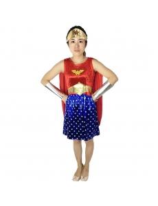 ワンダーウーマン コスチューム 5点セット ハロウィン仮装 衣装 コスプレ qx10020-22