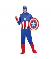 スーパーマン コスチューム 4点セット ハロウィン仮装 衣装 コスプレ qx10020-23