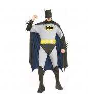 バットマン コスチューム ジャンプスーツ+フードマスク付きマント+ベルト 3点セット qx10046-1