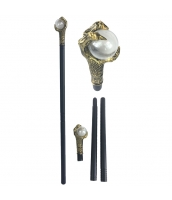 コスプレ小道具 おもちゃ兵器・武器 国王杖 ゴールデン qx10023-1