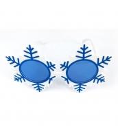 コスプレ小道具 アイマスク 雪結晶メガネマスク パーティマスク アイマスク qx10027-16
